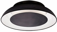 Kuzco FM13016-BK Eclipse Modern Black LED 16.125  Ceiling Light Fixture