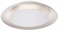 Kuzco FM13016-WH Eclipse Contemporary White LED 16.125  Ceiling Lighting Fixture