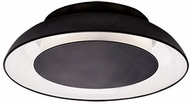 Kuzco FM13020-BK Eclipse Modern Black LED 19.625  Ceiling Light Fixture