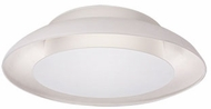 Kuzco FM13020-WH Eclipse Contemporary White LED 19.625  Flush Lighting