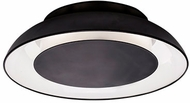 Kuzco FM13027-BK Eclipse Modern Black LED 26  Flush Mount Lighting