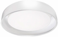 Kuzco FM13124-WH Beacon Contemporary White LED 24  Flush Mount Ceiling Light Fixture