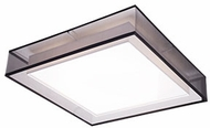 Kuzco FM14015-BK Covina Modern Black LED 15  Home Ceiling Lighting