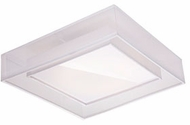 Kuzco FM14015-WH Covina Contemporary White LED 15  Overhead Light Fixture