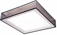Kuzco FM14020-BK Covina Modern Black LED 19.625  Overhead Lighting Fixture