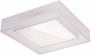 Kuzco FM14020-WH Covina Contemporary White LED 19.625  Ceiling Lighting