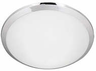 Kuzco FM1512-CH Malta Chrome LED 12  Flush Mount Lighting