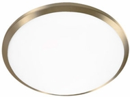 Kuzco FM1512-VB Malta Vintage Brass LED 12  Overhead Lighting