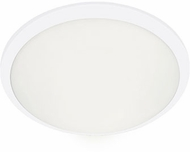 Kuzco FM1512-WH Malta Modern White LED 12  Ceiling Light Fixture