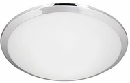 Kuzco FM1515-CH Malta Chrome LED 15  Flush Mount Lighting Fixture