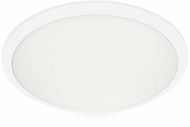 Kuzco FM1515-WH Malta Contemporary White LED 15  Flush Lighting