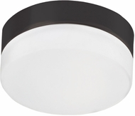 Kuzco FM2007-BK Contemporary Black LED 7  Flush Mount Light Fixture