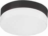 Kuzco FM2009-BK Modern Black LED 9  Flush Mount Lighting Fixture