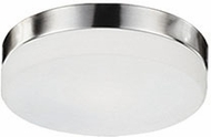 Kuzco FM2009-BN Brushed Nickel LED 9  Ceiling Light Fixture