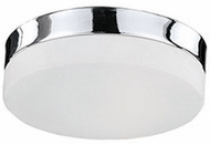 Kuzco FM2009-CH Chrome LED 9  Flush Lighting