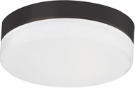 Kuzco FM2011-BK Contemporary Black LED 11  Flush Ceiling Light Fixture