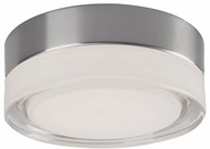 Kuzco FM3506-BN-CL Bedford Contemporary Brushed Nickel LED 6  Overhead Lighting