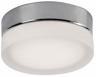Kuzco FM3506-CH-FR Bedford Modern Chrome LED 6  Flush Mount Light Fixture