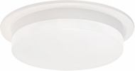 Kuzco FM42806-WH Stockton Contemporary White LED Ceiling Light