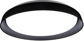 Kuzco FM43117-BK Hampton Contemporary Black LED Ceiling Lighting Fixture