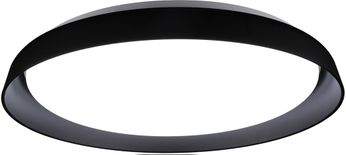 Kuzco FM43121-BK Hampton Contemporary Black LED Ceiling Light Fixture