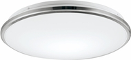 Kuzco FM43311-CH Brook Contemporary Chrome LED Flush Lighting