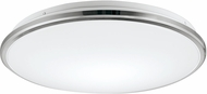 Kuzco FM43313-CH Brook Contemporary Chrome LED Flush Mount Lighting