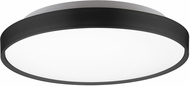 Kuzco FM43518-BK Brunswick Contemporary Black LED Flush Mount Light Fixture