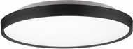 Kuzco FM43522-BK Brunswick Modern Black LED Flush Ceiling Light Fixture