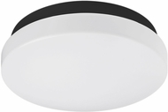 Kuzco FM9711-BK Contemporary Black LED 11  Ceiling Lighting Fixture