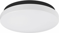 Kuzco FM9714-BK Modern Black LED 14  Ceiling Light Fixture