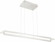 Kuzco LP16140-WH Mondrian Modern White LED Kitchen Island Lighting