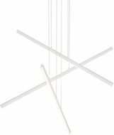 Kuzco MP10303-WH Vega Contemporary White LED 45  Chandelier Lighting