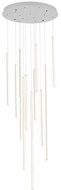 Kuzco MP14924-WH Chute Contemporary White LED Multi Pendant Lighting