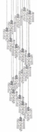 Kuzco MP2718-CH Butterfly Chrome LED Multi Drop Lighting Fixture