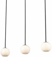 Kuzco MP47613-BK Europa Modern Black LED Multi Hanging Light
