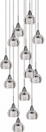 Kuzco MP54513-CH Nest Contemporary Chrome LED Multi Hanging Light Fixture