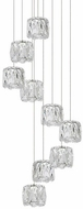 Kuzco MP7809 Chrome LED Multi Lighting Pendant