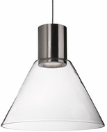Kuzco PD11612-BN Contemporary Brushed Nickel LED Mini Drop Lighting Fixture