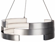 Kuzco PD12716-BN Anello Contemporary Brushed Nickel LED 16  Hanging Light Fixture