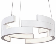 Kuzco PD12716-WH Anello Modern White LED 16  Drop Lighting