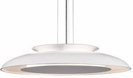 Kuzco PD13027-WH Eclipse Contemporary White LED 26  Drop Lighting