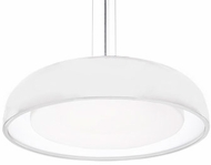 Kuzco PD13124-WH Beacon Contemporary White LED 24  Drop Ceiling Light Fixture