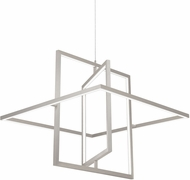 Kuzco PD16120-BN Mondrian Modern Brushed Nickel LED Pendant Hanging Light