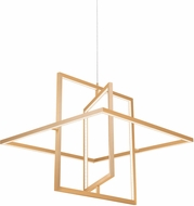 Kuzco PD16120-SG Mondrian Contemporary Soft Gold LED Hanging Light Fixture