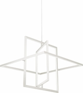 Kuzco PD16120-WH Mondrian Modern White LED Pendant Light Fixture
