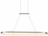 Kuzco PD19347-AS Eerie Contemporary Antique Silver LED 48 Kitchen Island Light