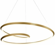 Kuzco PD22339-VB Ampersand Modern Vintage Brass LED 39  Pendant Lamp