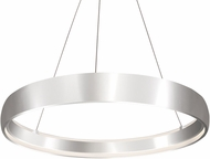 Kuzco PD22735-BS Halo Contemporary Brushed Steel LED 35 Drop Ceiling Lighting