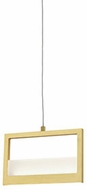 Kuzco PD31408-BB Ratio Modern Brushed Brass LED Mini Drop Ceiling Lighting